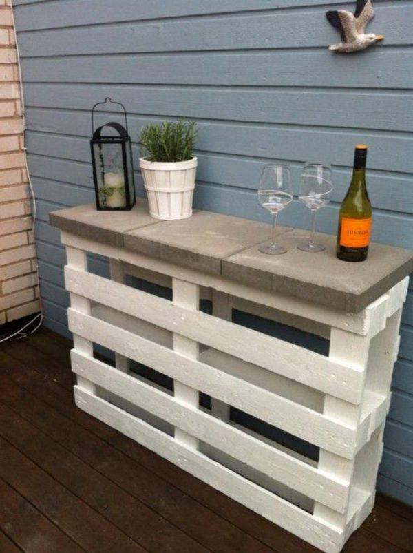 bar table création palette