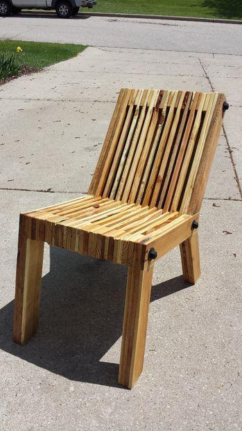 chaise création palette