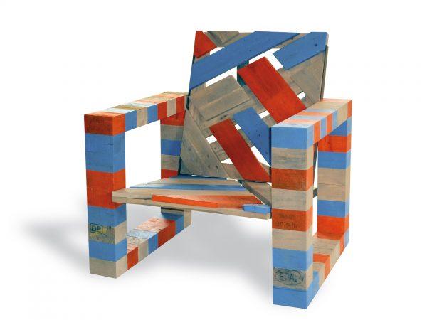 chaise désignes en palette