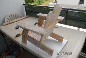 chaise enfants création palette