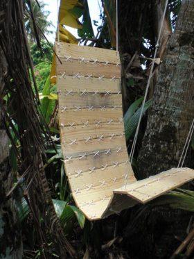 fauteuil hamac en palette