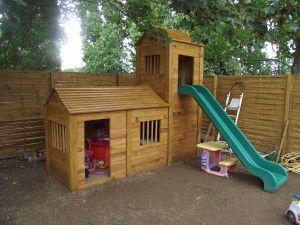 maison pour enfant en palette