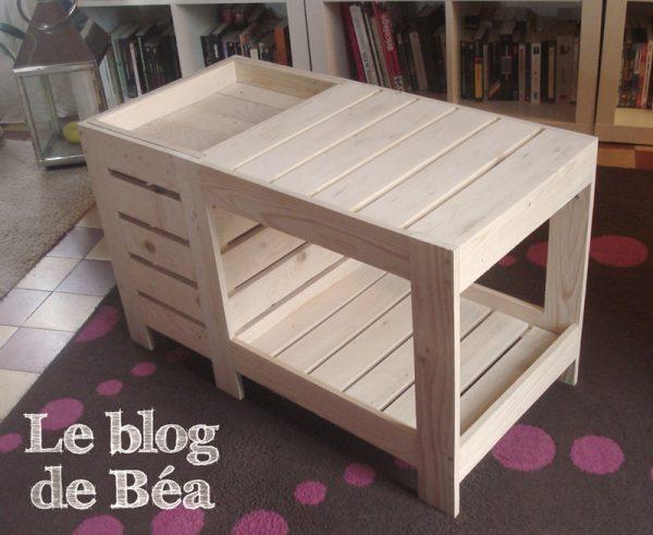 petit meuble de cuisine en palette creation palette. Black Bedroom Furniture Sets. Home Design Ideas