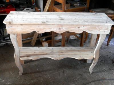 table décoration création palette