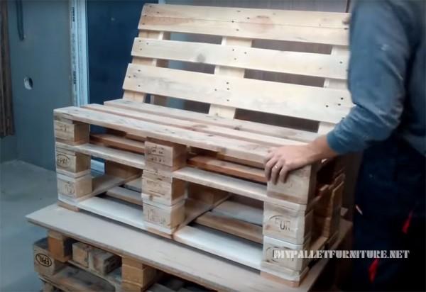 Comment Faire Un Fauteuil Avec Des Palettes fauteuil détente en palette - creation palette
