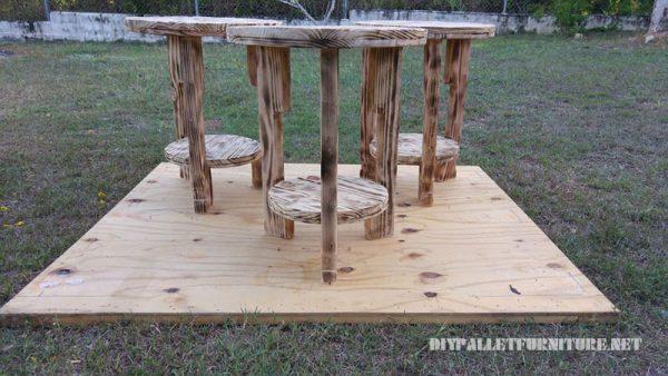 plancher en bois de palette