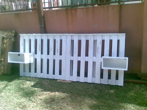 barrière en palette