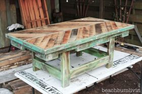 fabrication en palette