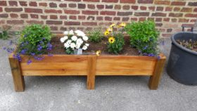 jardinière en palette